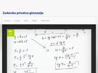 Slika naslovnice sjedišta: Zadarska privatna gimnazija (http://www.zpg.hr/)