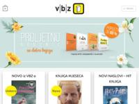 Frontpage screenshot for site: V.B.Z. (http://www.vbz.hr/)