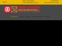 Frontpage screenshot for site: Đuro Đaković, Elektromont d.d. (http://www.dd-elektromont.com/)