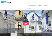 Slika naslovnice sjedišta: Bilo trade d.o.o. Grude (http://www.bilo-trade.com)