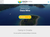 Slika naslovnice sjedišta: Autocamp Oaza mira, Drage (http://www.oaza-mira.hr)