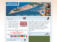 Frontpage screenshot for site: Croatia Rab (http://www.croatia-rab.com/)