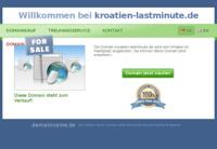 Slika naslovnice sjedišta: Lastminute (http://www.kroatien-lastminute.de/)