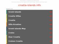 Slika naslovnice sjedišta: Hrvatski otoci (http://www.croatia-islands.info)