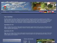 Frontpage screenshot for site: Apartmani Žarko (http://free-st.t-com.hr/zarko-markic)