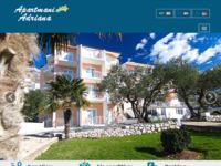 Frontpage screenshot for site: Apartmani Adriana - Živogošće-Blato (http://www.apartmani-adriana.com/)