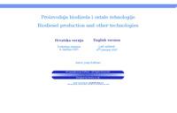 Slika naslovnice sjedišta: Proizvodnja biodizela (http://www.inet.hr/~jkuftine/)
