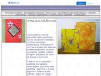 Slika naslovnice sjedišta: Unikatne čestitke i ukrasne vrečice (http://www.unikat.8m.net/)
