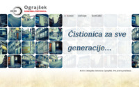 Slika naslovnice sjedišta: Kemijska čistionica Ograjšek (http://www.ograjsek.hr/)