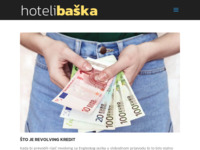 Frontpage screenshot for site: Hoteli Baška (http://www.hotelibaska.hr/)