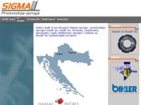 Frontpage screenshot for site: Sigma proizvodnja opruga (http://www.sigma.com.hr)