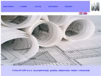 """Frontpage screenshot for site: """"M COM"""" usluge d.o.o. (http://mcom.hr/)"""