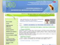 Slika naslovnice sjedišta: Hrvatska udruga za dezinfekciju, dezinsekciju i deratizaciju (http://www.huddd.hr/)