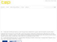 Frontpage screenshot for site: TEP d.d. Zagreb tvornice elektrotehničkih proizvoda (http://www.tep.hr)
