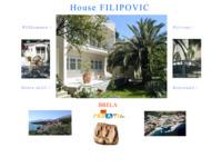 Frontpage screenshot for site: Aapartments Filipović (http://www.dalmatia-channel-of-brac.com/filipovic_index.htm)
