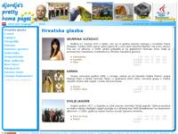 Frontpage screenshot for site: Moje papigice (http://zurovac.adriaportal.com)