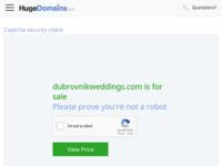 Slika naslovnice sjedišta: Dubrovnik Riviera Vjenčanja (http://www.dubrovnikweddings.com)