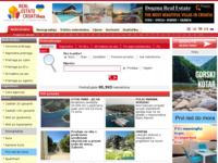 Slika naslovnice sjedišta: Nekretnine u Hrvatskoj (http://www.realestatecroatia.com)