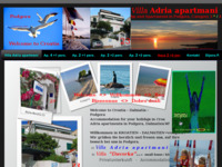 Frontpage screenshot for site: Podgora (http://www.kroatien-urlaub.de)