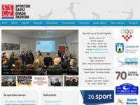 Slika naslovnice sjedišta: Zagrebački športski savez (http://www.zgsport.hr)