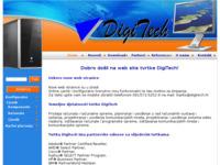 Frontpage screenshot for site: DigiTech d.o.o. (http://www.digitech.hr)