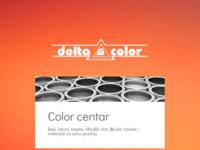 Frontpage screenshot for site: Delta Color (http://www.deltacolor.hr)