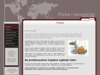 Slika naslovnice sjedišta: Forex (http://www.akcije.biz)