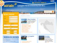 Slika naslovnice sjedišta: Vodič po Hrvatskoj na njemačkom jeziku (http://www.kroatien-adrialin.de/ortsinfos/)