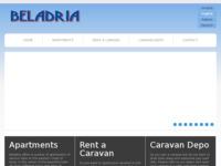 Frontpage screenshot for site: Beladria (http://www.beladria.com/)