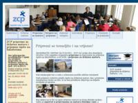 Slika naslovnice sjedišta: Zagrebački centar za poduku (http://www.zcp.hr/)