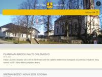 Slika naslovnice sjedišta: Službene stranice općine Kamanje (http://www.kamanje.hr/)