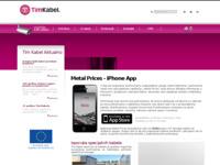 Slika naslovnice sjedišta: Tim kabel d.o.o. (http://www.tim-kabel.hr/)
