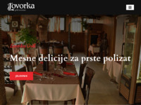Frontpage screenshot for site: Grill Lovorka (http://www.grill-lovorka.hr)
