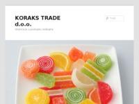 Frontpage screenshot for site: Koraks Trade d.o.o. (http://www.koraks.hr/)