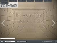 Slika naslovnice sjedišta: Klesarija Markvinia (http://www.markvinia.hr/)