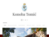 Frontpage screenshot for site: Konoba Tomić (http://www.konobatomic.com)