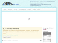 Frontpage screenshot for site: (http://www.mkd.hr/)