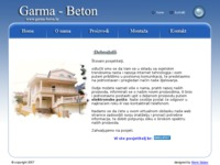 Slika naslovnice sjedišta: Garma Beton (http://www.garma-beton.hr/)