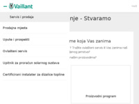 Slika naslovnice sjedišta: Vaillant Hrvatska (http://www.vaillant.hr)