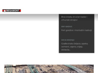 Frontpage screenshot for site: Begamont d.o.o. Zagreb (http://www.begamont.hr/)