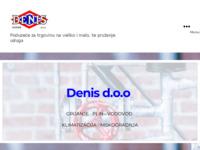 Slika naslovnice sjedišta: Denis d.o.o. (http://www.denis.hr)