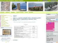 Slika naslovnice sjedišta: Osnovna škola Vladimira Nazora - Postira, otok Brač (http://www.nazor-postira.hr/)
