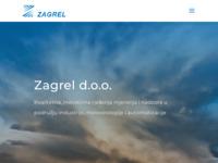 Slika naslovnice sjedišta: Zagrel d.o.o. (http://www.zagrel.hr/)