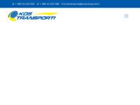 Slika naslovnice sjedišta: Kos transporti (http://www.kostransporti.hr)