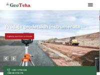 Slika naslovnice sjedišta: Geoteha d.o.o. - geodetska, građevinska i šumarska oprema (http://www.geoteha.hr/)