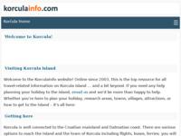 Slika naslovnice sjedišta: Korčula info (http://www.korculainfo.com/)