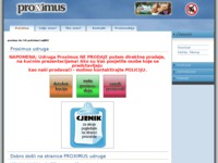 Slika naslovnice sjedišta: Proximus - terapeutska oprema (http://www.proximus-os.hr)