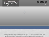Frontpage screenshot for site: Agroturizam Ograde - Istra holiday (http://www.agroturizam-ograde.hr/)