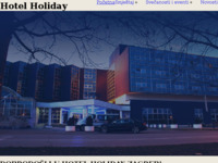 Frontpage screenshot for site: Hotel Golden Tulip Holiday (http://www.hotel-holiday.hr)