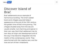 Slika naslovnice sjedišta: Otok Brač - informacije o otoku i fotogalerija (http://www.islandbrac.com/)